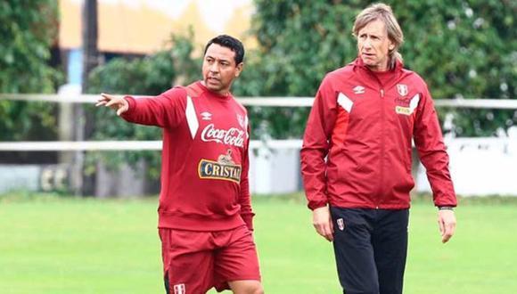 Nolberto Solano es asistente de la selección peruana desde 2015. (Foto: GEC)