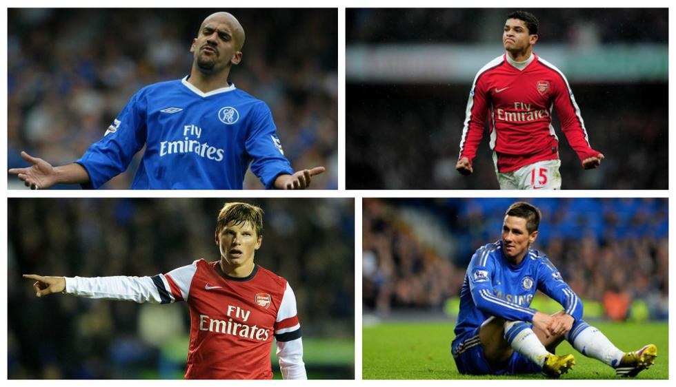 Arsenal vs. Chelsea: conoce el once 'fail' entre jugadores ambos equipos (Difusión).