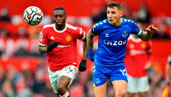 Manchester United sigue sin ganar en la Premier League. Ahora empató ante Everton. (EFE)