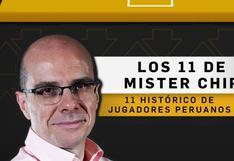 MisterChip elige a su once histórico de la Selección Peruana