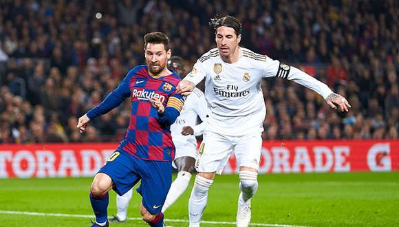 Sergio Ramos y Lionel Messi terminan contrato en sus clubes a fines de junio de 2021. (Getty)