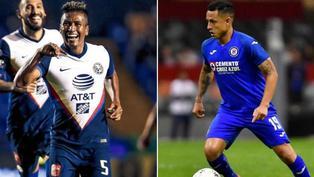 Cruz Azul de Yotún y América de Aquino continúan en la pelea por el título de la Liga MX
