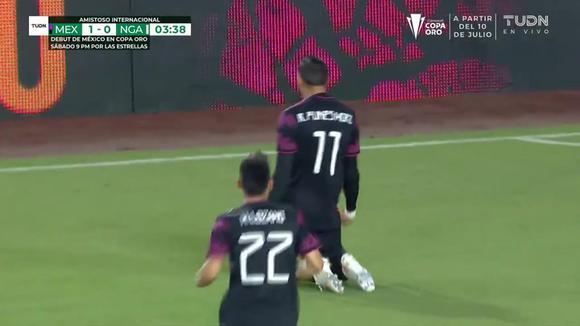 Mexico 2-0 Nigeria: Rogelio Funes Mori's goal.  (Video: TUDN)
