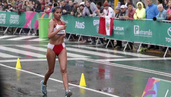 Kimberly García clasificó a los Juegos Olímpicos tras conseguir la marca en la Copa Panamericana de Marcha de México en el 2019. Es parte del team PERU LNG y Hunt Oil.