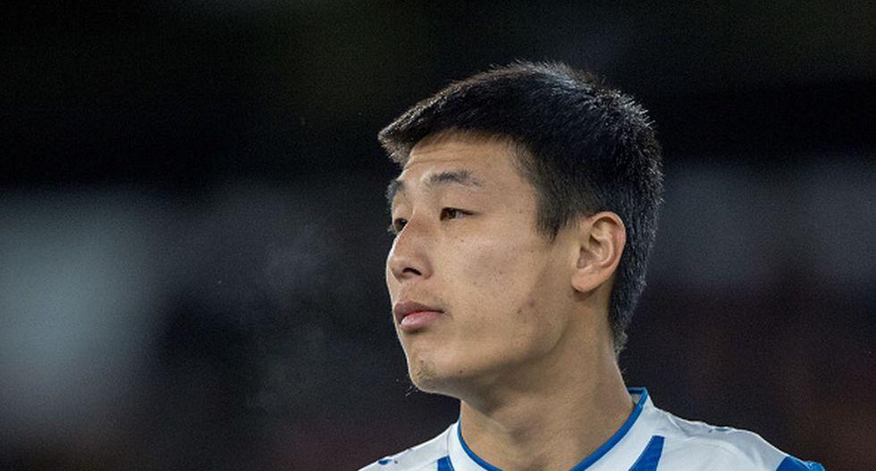 Wu Lei llegó al Espanyol en el mercado de invierno de 2019. (Getty)