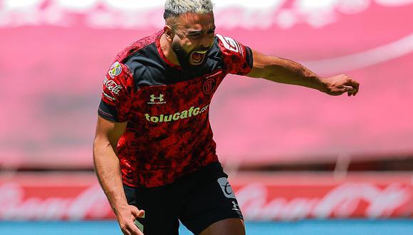 Alexis Canelo llegó a Toluca en 2016 procedente del Puebla de la Liga MX (Foto: Getty Images)