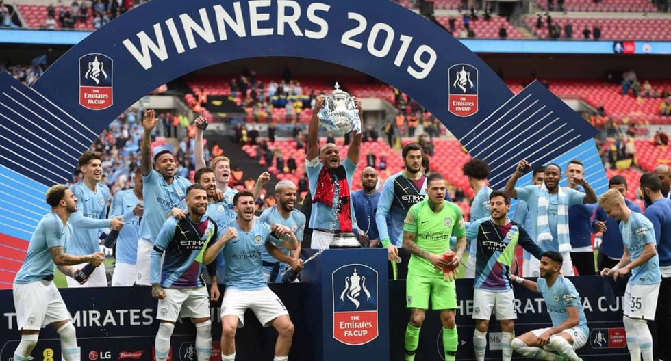 2019 - FA Cup (Manchester City)