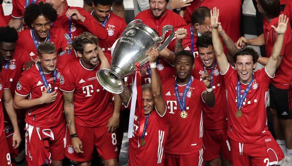 Bayern Múnich venció al PSG y se cosagró campeón de la Champions League en agosto. (AFP)