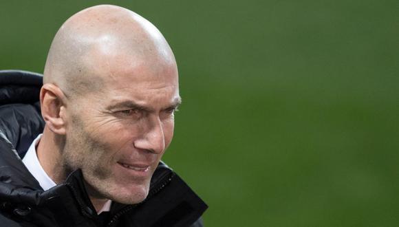 Zinedine Zidane ganó en su segunda etapa como DT del Madrid una Liga y una Supercopa de España. (Foto: AFP)