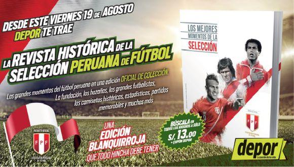 Selección Peruana: Depor te trae la revista con los momentos históricos (USI).