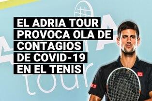 La gira del Adria Tour desencadena una ola de contagios de coronavirus en el mundo del tenis