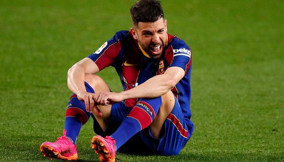 Jordi Alba es uno de los capitanes del FC Barcelona. (Foto: AFP)