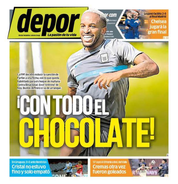 ¡Con todo el chocolate!