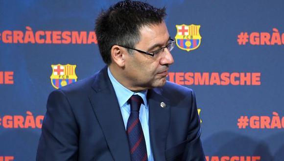 Josep Maria Bartomeu es presidente de FC Barcelona desde mediados del 2015. (Foto: AFP)