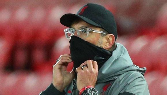 Jürgen Klopp terminó feliz tras recuperar liderato de la Premier League. (Getty Images)