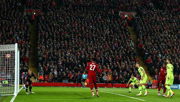 Oakley Cannonier fue clave para el gol de Divock Origi, que terminó clasificando al Liverpool a la final de la Champions League 2018-2019. (Foto: Getty Images)
