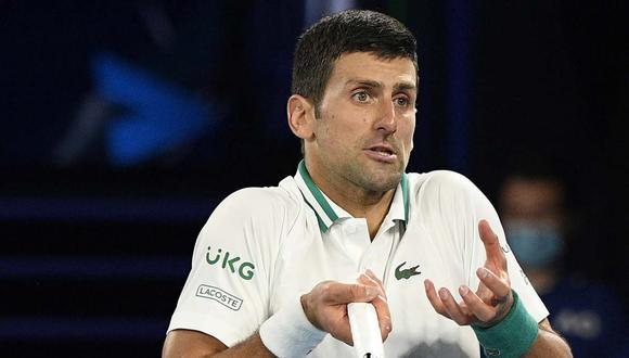 Una persona intentó sabotear el gran momento de Novak Djokovic, según publicó un medio serbio. (Foto: AP)