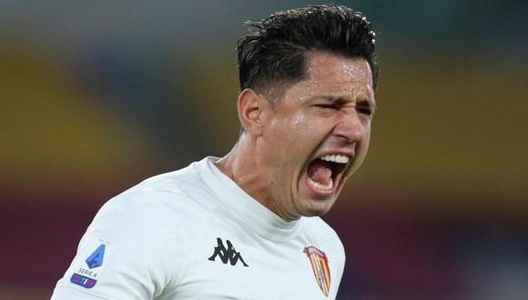 Lapadula no anota con el Benevento desde el 2 de noviembre. (Foto: AFP)