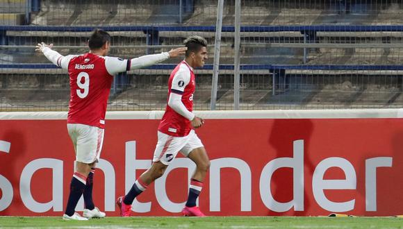Nacional clasificó a la Copa Sudamericana tras vencer a Argentinos Juniors. (EFE)