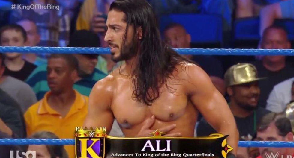 Ali venció a Buddy Murphy y pasó a la segunda ronda del King of the Ring en SmackDown. (WWE)