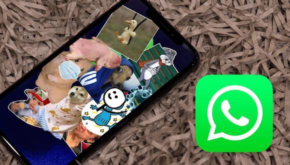 ¿Quieres colocar todos tus stickers en tus estados de WhatsApp? Conoce cómo hacerlo. (Foto: WhatsApp)