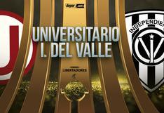 Universitario vs. Independiente del Valle: fecha, hora y canal por la Copa Libertadores 2021