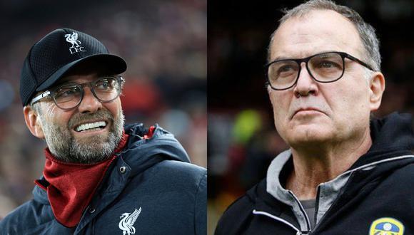 Jürgen Klopp tendrá un duelo aparte con Marcelo Bielsa este sábado en el Liverpool vs. Leeds por la Premier League | Fotos: Agencias