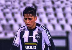 Se acabó la aventura: Alexander Lecaros no seguirá en Botafogo de Brasil