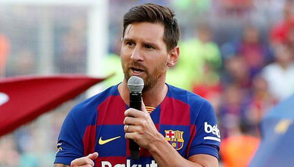 Lionel Messi ha ganado cuatro Champions League en el Barcelona. (Foto: Getty)