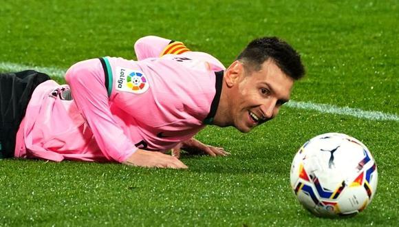 Carles Puyol eleva a Messi a categoría de leyenda del deporte (Foto: AFP)