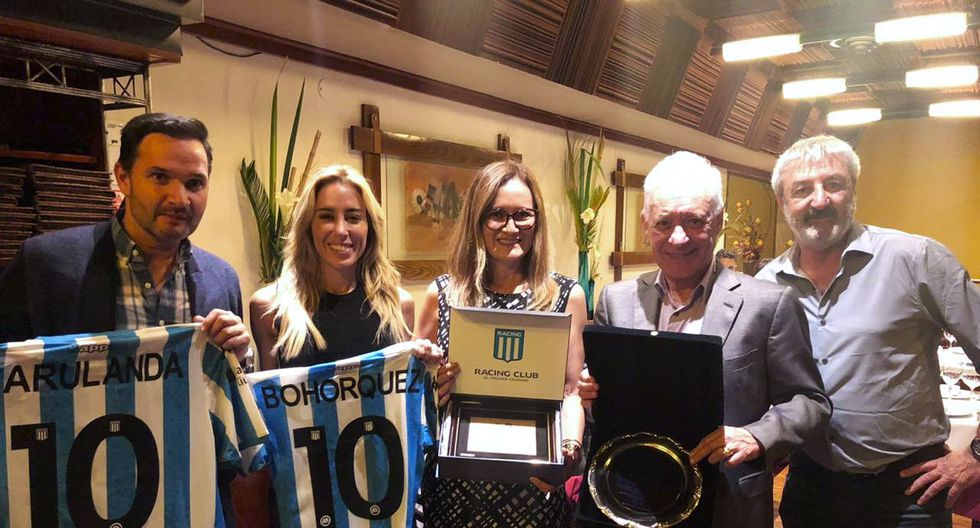 Racing Club agasajó a Alianza Lima (Foto: Racing)