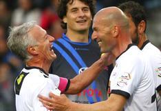 Deschamps mira a Zinedine Zidane como su sucesor en la selección de Francia