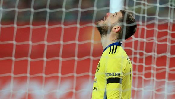 El último penal que atajó De Gea fue en el 2016 ante el Everton por la FA Cup. (Foto: Reuters)