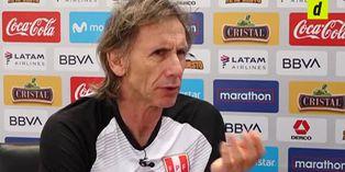 """Ricardo Gareca sobre Christian Cueva: """"Es muy difícil dejarlo de lado"""""""