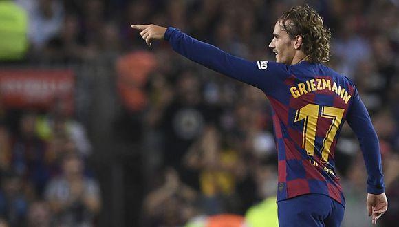 Griezmann fue el encargado de conducir el ataque de Barcelona tras las lesiones de Messi y Suárez. (Foto: AFP)