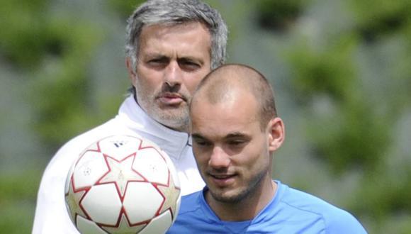 Las confesiones de Wesley Sneijder y los permisos de José Mourinho en el Inter de Milán. (Foto: AFP)
