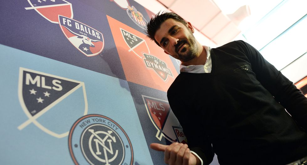 David Villa - New York City FC (2014-2019) (Foto: AFP)