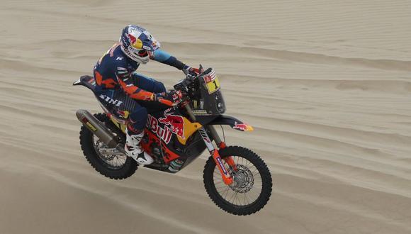 Matthias Walker es el vigente campeón en motos del Dakar. (AP)