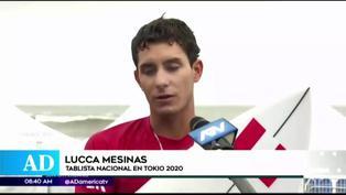 Al borde de las lágrimas: Lucca Mesinas pidió perdón tras ser eliminado de Tokio 2020