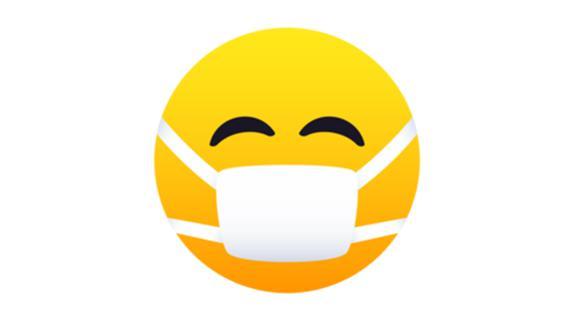El emoji con mascarilla cambió y ahora conoce su significado real. (Foto: WhatsApp)
