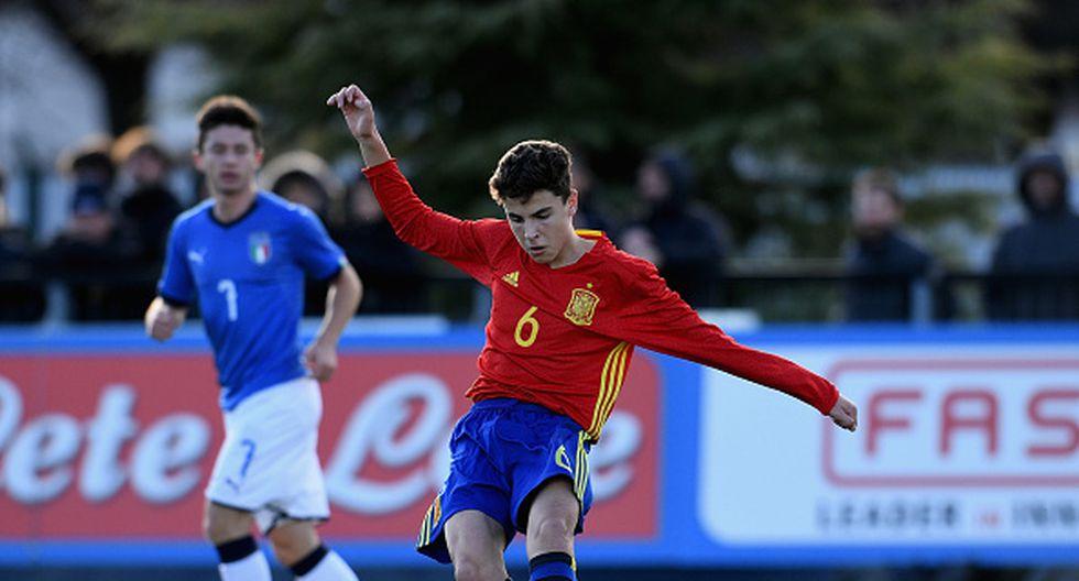 Ivan Morante es clave en el esquema de Santi Denia en la Sub-19 de España. (Getty)