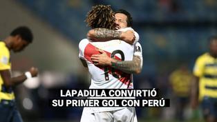 Selección peruana: Así reaccionó Gianluca Lapadula tras anotar su primer gol con la 'bicolor'