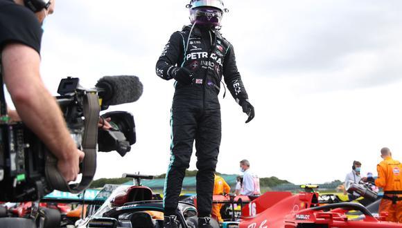 Lewis Hamilton ganó el Gran Premio de España, sexta carrera de la temporada en la Fórmula 1. (Foto: AFP)