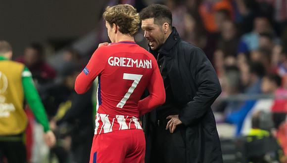 Antoine Griezmann volvió al Atlético de Madrid tras dos temporadas en el Barcelona. (Foto: Getty)