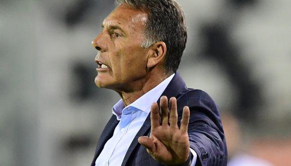 Miguel Ángel Russo retornó a Lima con el equipo. (AFP)
