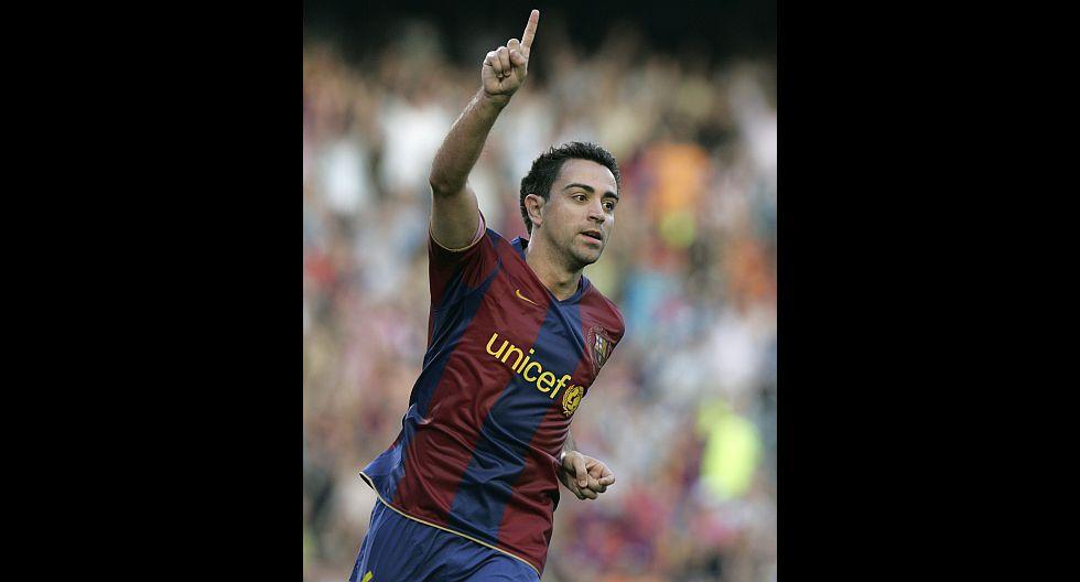 23.- Xavi (FC Barcelona), en en 33.4 millones de dólares. (Foto: Agencias)