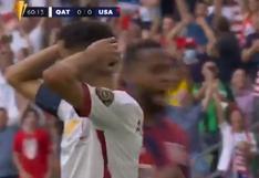 De no creer: penal y Hassan Al-Haidos falló el 1-0 del Estados Unidos vs. Qatar por la Copa Oro [VIDEO]