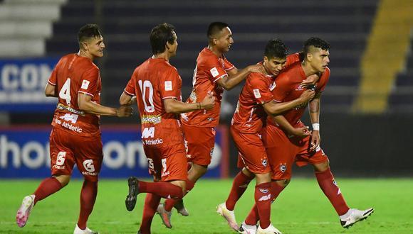 Hansell marcó el gol del para Cienciano ante Ayacucho FC por la fecha 5 de la Liga 1. (Foto: Liga de Fútbol Profesional