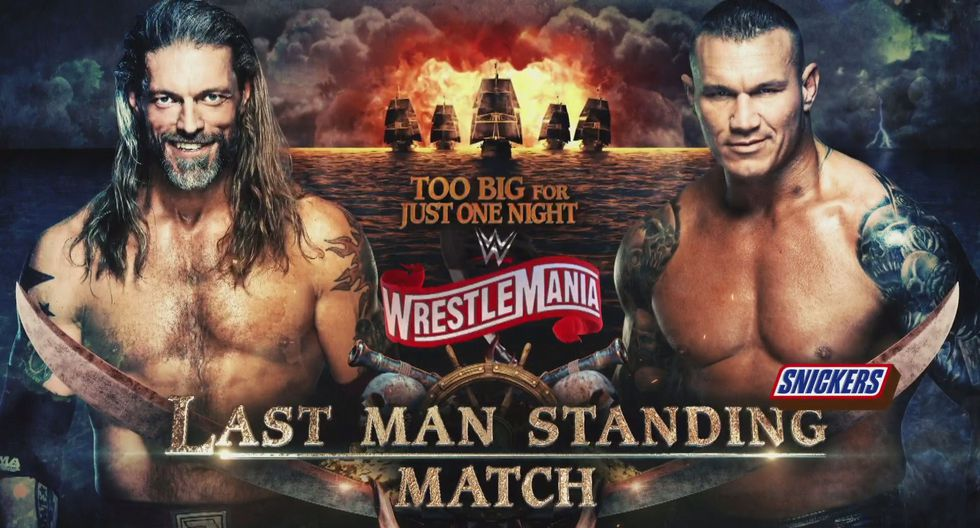 Edge vs. Randy Orton en una lucha de último hombre en pie. (Foto: WWE)
