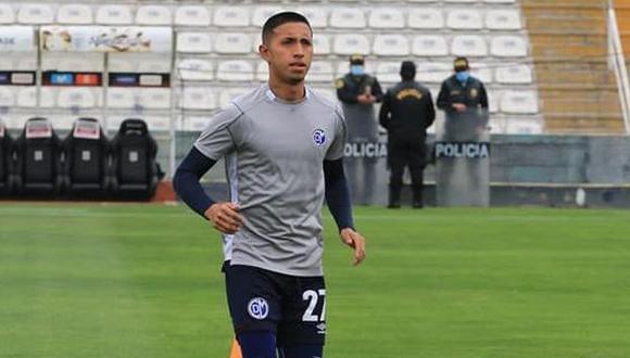 Rodrigo Vilca jugará inicialmente en la Sub-23 de Newcastle United. (Foto: Deportivo Municipal)